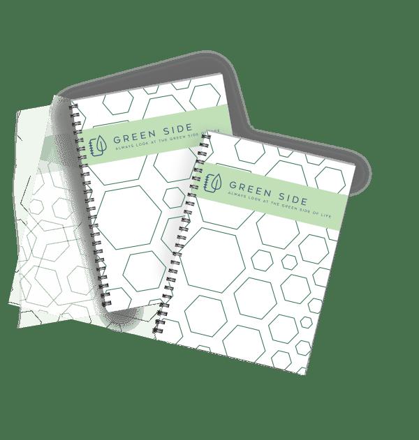 Green-side notitieboek